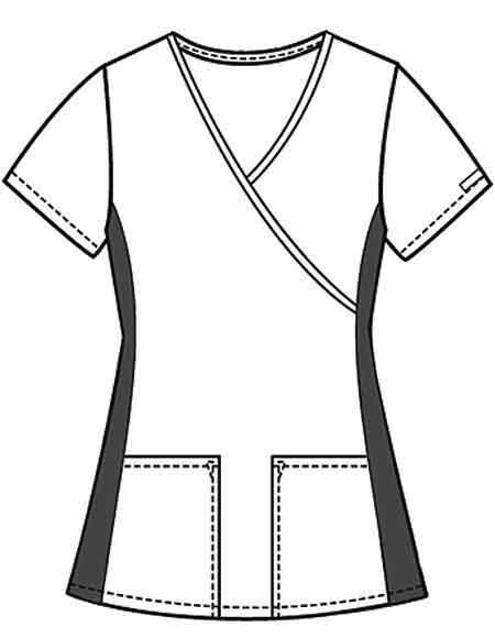 Buy Flexibles I Like It A Dot Women's Mock Wrap Nurses