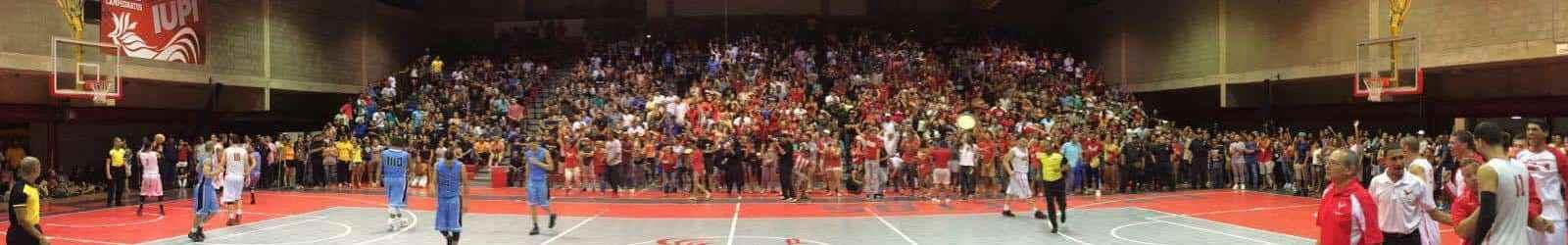 Gallitos obtienen el pase a la final del baloncesto universitario