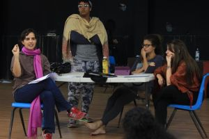 De izquierda a derecha: Sylvia Bofill, Rovy Rodríguez, Andrea Rovira y Gabriela Saker.