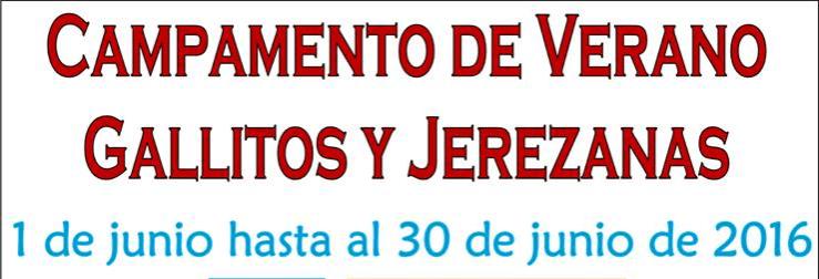 Se anuncia el Camp Gallitos & Jerezanas