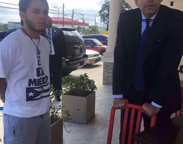 Por pautarse una reunión entre José Carrión III y los líderes estudiantiles