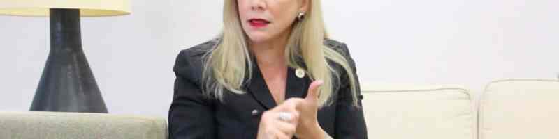 Presidenta interina hace llamado para que se abran los portones