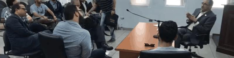 Satisfecho el Comité de Reforma Universitaria tras reunión con Abel Nazario