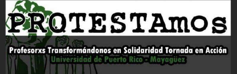 """PROTESTAmos presenta """"Plan Fiscal Sostenible para UPR"""""""