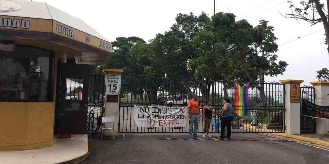 Anuncian fin de semestre para UPR Arecibo
