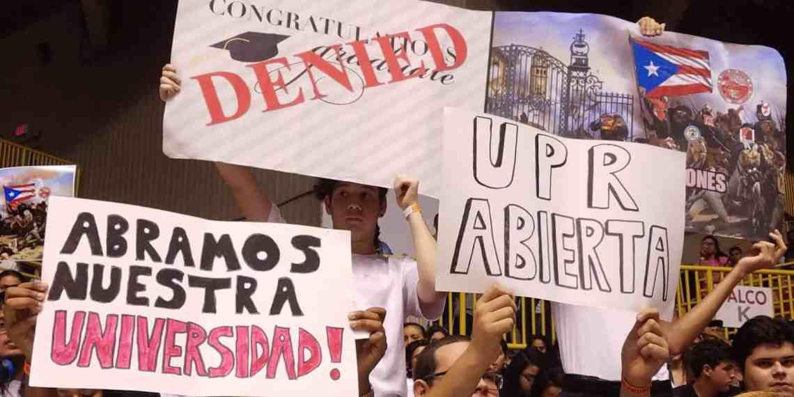 UPR Río Piedras levanta su huelga y pasa a luchar con portones abiertos