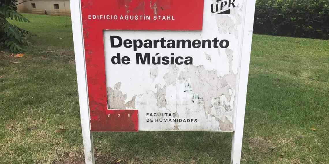 Sin aire acondicionador ciertos salones del Departamento de Música