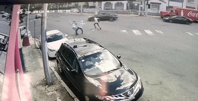 Vídeo muestra intento de asalto en Río Piedras