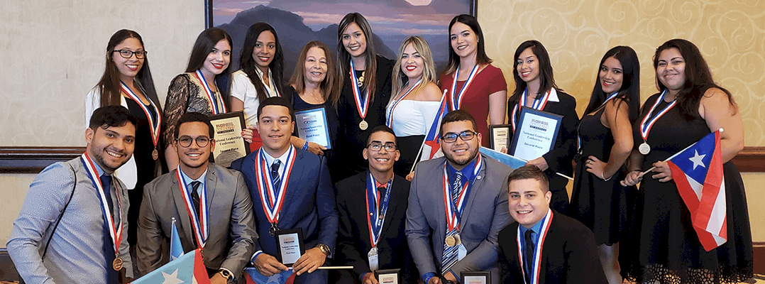 La organización estudiantil Business Professionals of America de Río Piedras se destaca en competencia en Texas