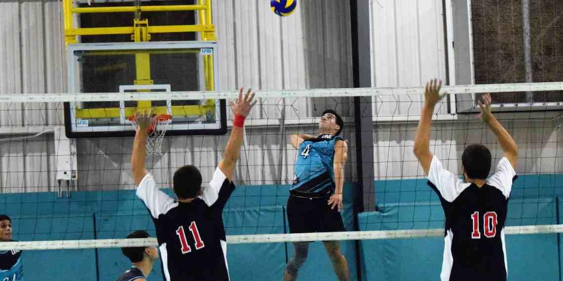 Bicampeones arracan victoriosos con el inicio del voleibol LAI