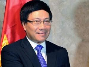 El vicepremier y canciller de Vietnam, Pham Binh Minh (Fuente: VNA) (Pie de foto e imagen desde portal http://es.vietnamplus.vn)
