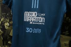 Playera Medio Maratón CDMX Banorte