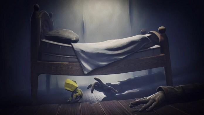 Oscuridad bajo la cama