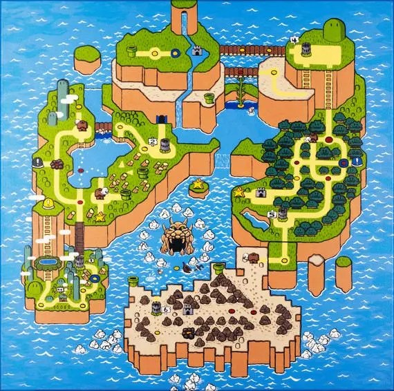 Mapade Super Mario World