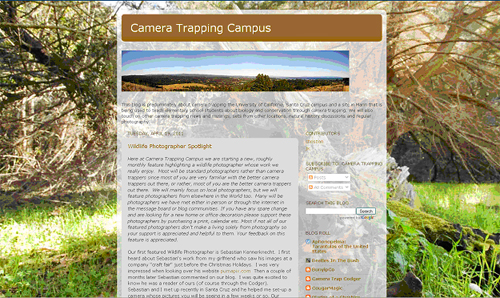Camera Trapping Campus
