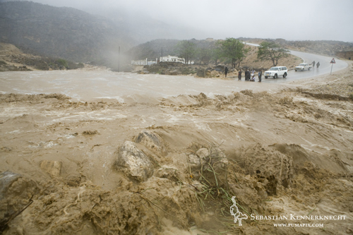 Flooding in the Hawf Protected Area, Yemen