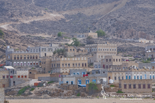Stone buildings of Hawf city, Hawf Protected Area, Yemen