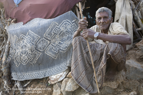 Older Bedouin, Hawf Protected Area, Yemen