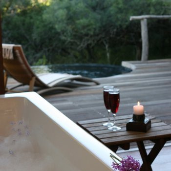 Pumba Private Game Reserve Weddings Bubble Bath On The Deck