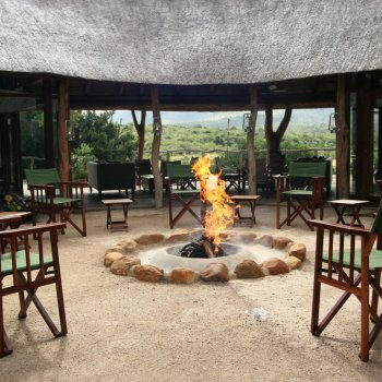 Pumba Private Game Reserve Weddings Bush Lodge Communal Fire Pit