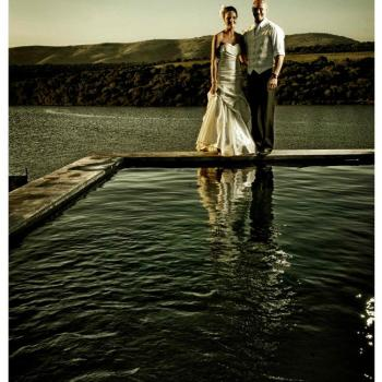 Pumba Private Game Reserve Weddings Wedding Couple At Water Lodge