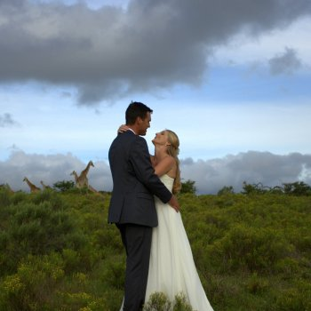 Pumba Private Game Reserve Weddings Wedding Couple In a Loving Embrace