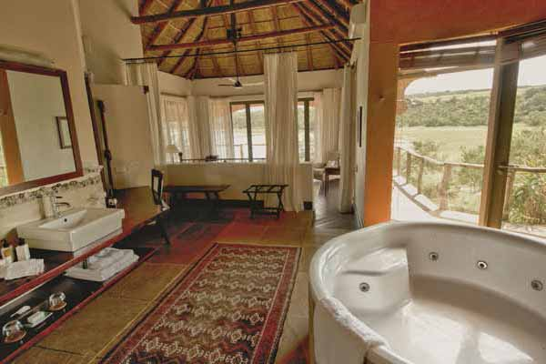Pumba Water Lodge Kudu Suite Interior View