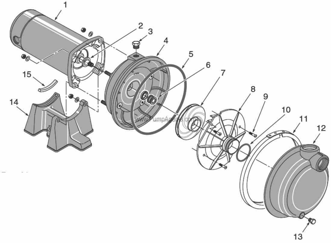 Parts for Flotec Pump model # FP5162