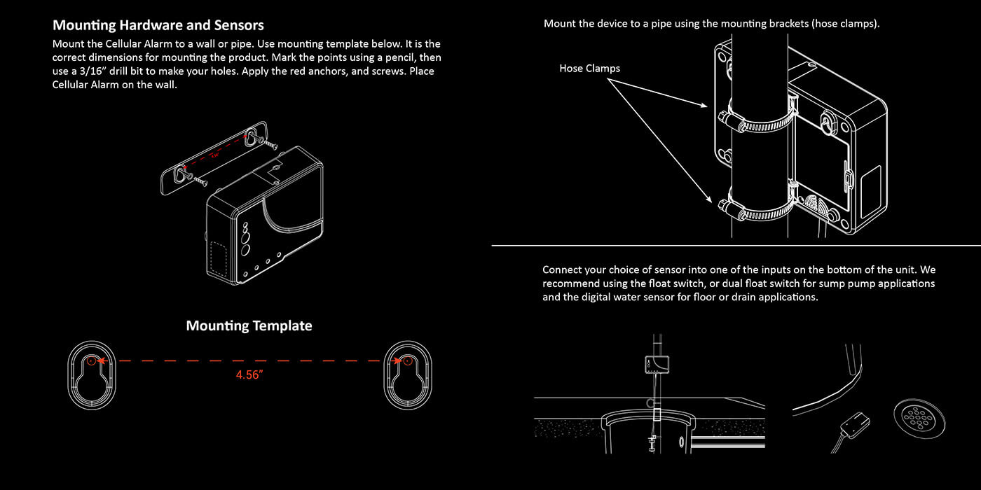 hight resolution of mounting guide