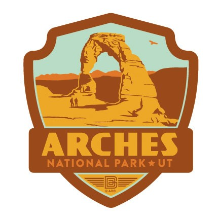 Arches NP Emblem Sticker Made In The USA