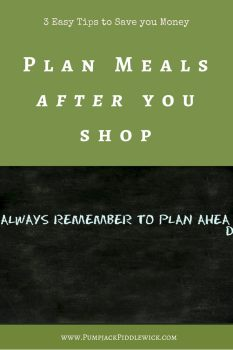3 easy tips to save money plan meals after you shop suggestion by PumpjackPiddlewick