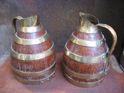 Cooper Barrel Jugs at PumpjackPiddlewick on Etsy