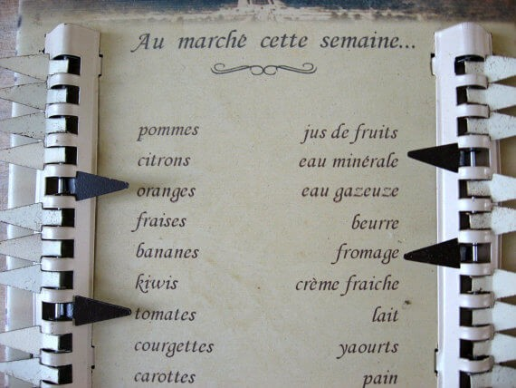 French Shopping List_Sold at PumpjackPiddlewick