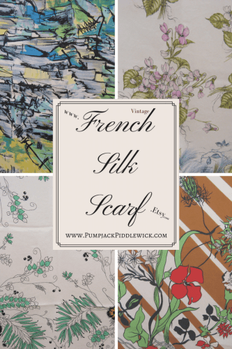 11 reasons to buy a French silk scarf
