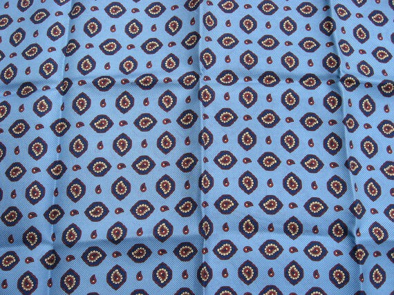 Paisley Pocket Square_Sold at PumpjackPiddlewick
