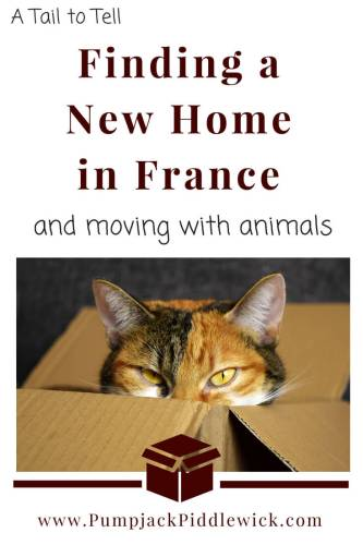 Buying a new home in France and moving animals with PumpjackPiddlewick