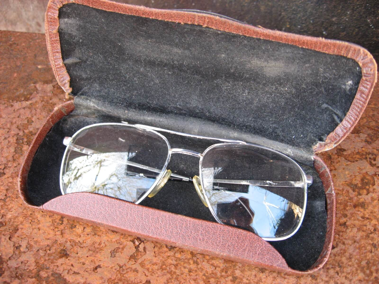 1970s Martin West Germany aviator eyeglasses_I_PumpjackPiddlewick