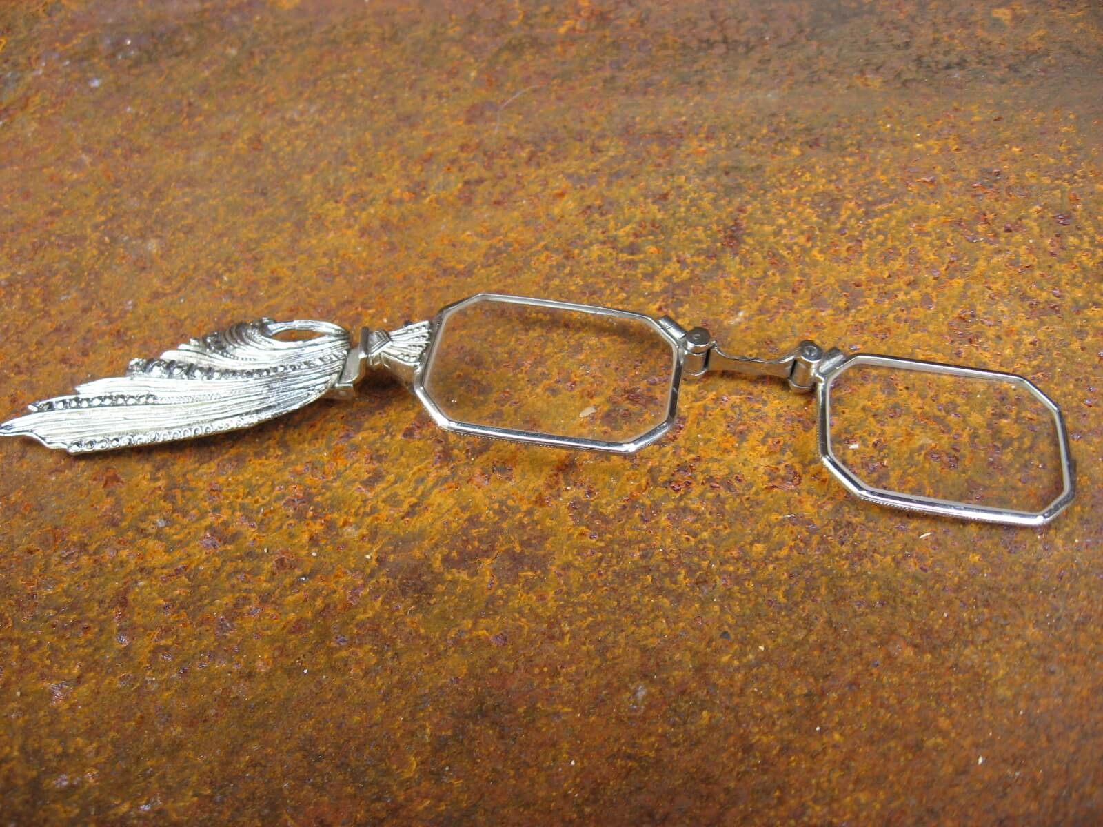 art nouveau lorgnettes antique folding reading glasses_D_PumpjackPiddlewick