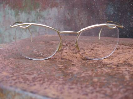 Art Deco Depression Era eyeglasses at PumpjackPiddlewick