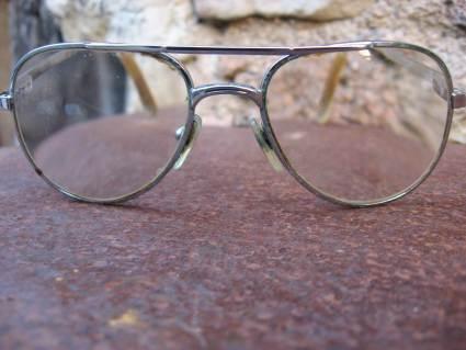 1970s aviator glasses at PumpjackPiddlewick