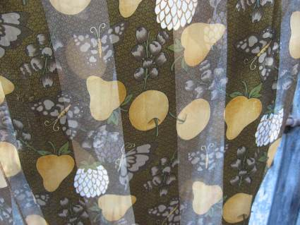 Fruit Tree Garden Scarf at PumpjackPiddlewick