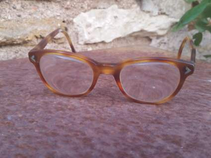 1930s child's tortoiseshell vintage eyeglasses at PumpjackPiddlewick