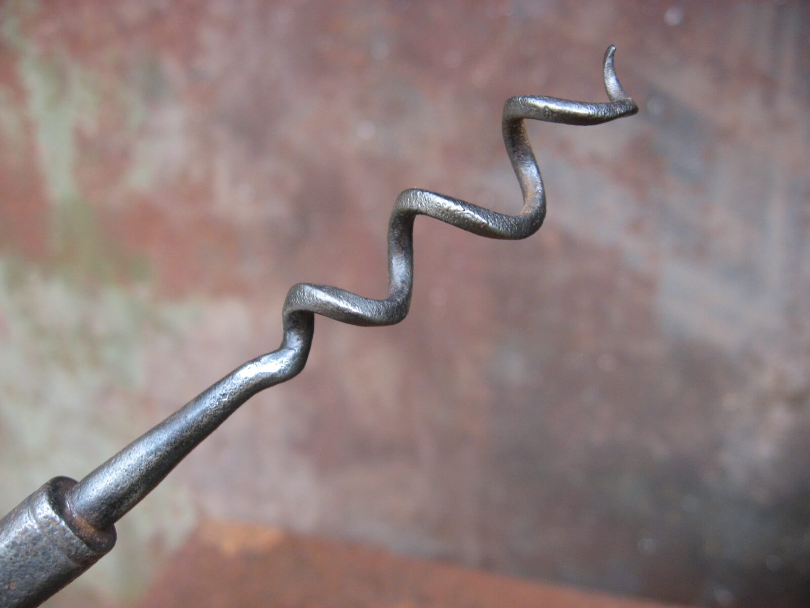 Antique 19th century corkscrews at PumpjackPiddlewick