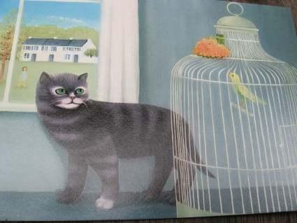 Cat postcards at PumpjackPiddlewick