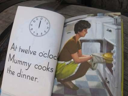 Teaching children Time Ladybird Book at PumpjackPiddlewick
