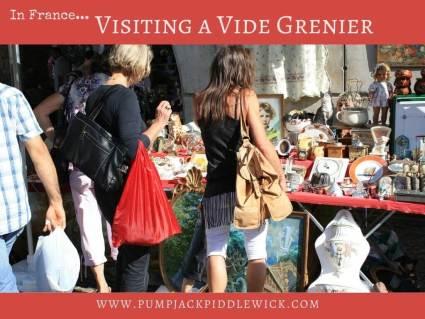 Exploring the vide grenier at PumpjackPiddlewick