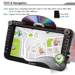 Vectra B Radio Wiring Diagram Dodge Caravan Ac 8 Uk Sat Navi 2 Din For Passat Golf Tiguan Stereo Gps Navigation Car Dvd Player Ebay