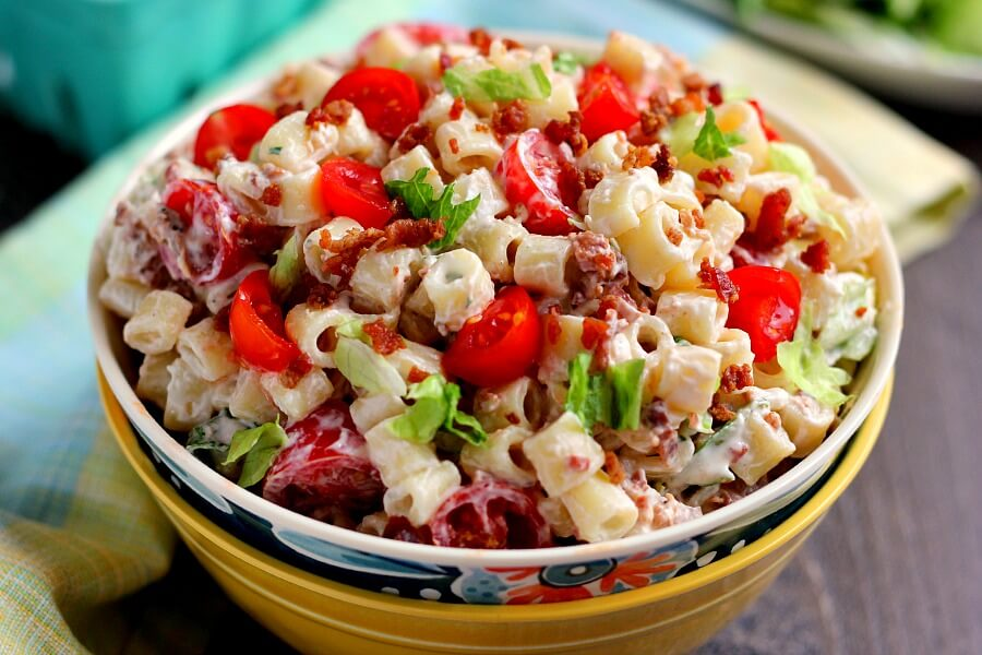 Image result for blt pasta salads