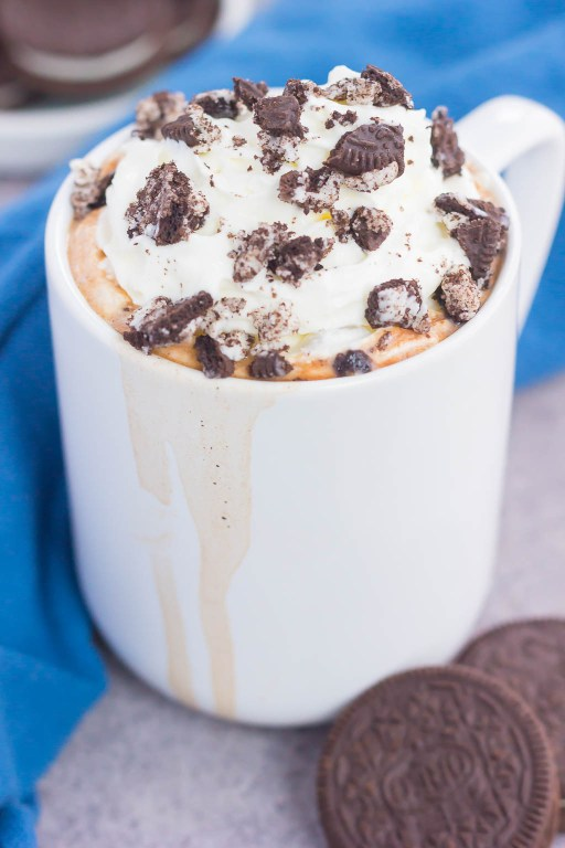 This Cookies and Cream Hot Chocolate iscreamy, decadent, and ready in less than 10 minutes. Made with two kinds of chocolate and sprinkled with crushed Oreo cookies, this dreamy drink is the perfect cure for those winter blues!