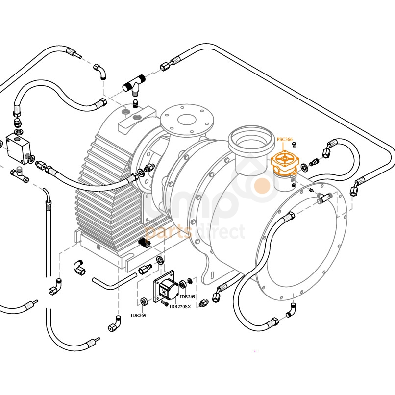 Oil Filter Assembly for HD Pumps
